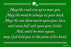 An Irish blessing for you on this St. Patrick's Day weekend... - American Greetings Blog