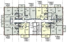 Hotel Floor Plan, House Floor Plans, Apartment Layout, Apartment Design, Futuristic Architecture, Amazing Architecture, Theatrical Scenery, Site Plans, Building Plans