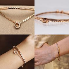 . Diamond Bracelets, Crystal Bracelets, Sterling Silver Bracelets, Diamond Jewelry, Bangle Bracelets, Simple Jewelry, Jewelry Patterns, Indian Jewelry, Women's Accessories