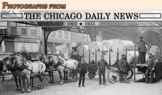Photographs From The Chicago Daily News 1902-1933. There are over 55,000 images of urban life included in this collection. This collection is part of the American Memory section at the Library of Congress website.