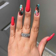 15 Color Changing Nail Inspirations Cool Nail Art Designs 2019 Creative Nail Designs for Short Nails to Create Unique Styles Best Acrylic Nails, Summer Acrylic Nails, Summer Nails, Creative Nail Designs, Creative Nails, Art Designs, Design Ideas, Hot Nails, Swag Nails