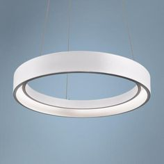 The hanging fixture has been around for centuries, but today's designers have added their own touch. Round Pendant Light, Small Pendant Lights, White Pendant Light, Modern Pendant Light, Pendant Lighting, Circle Chandelier, Modern Chandelier, Chandeliers, Closet Lighting