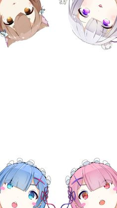 Re: zero Wallpapers for phone. - Re:Zero - Anime Anime Chibi, Art Anime, Anime Kunst, Anime Art Girl, Manga Anime, Re Zero Wallpaper, Anime Wallpaper Phone, Lock Screen Wallpaper Iphone, Kawaii Wallpaper