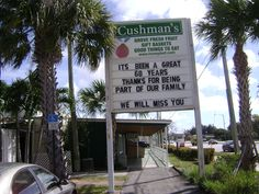 Cushman's West Palm Beach store, the day before it closes for good, after 68 years being in business! Palm Beach Fl, Palm Beach Gardens, Florida City, Old Florida, Beach Stores, Florida Adventures, Fresh Fruit, Organic Gardening, Nostalgia