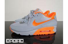 "Nike Air Max 90 Hyperfuse ""Stealth/Total Orange"""