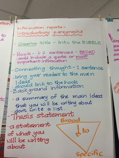 What is a good structure for an introductory paragraph?