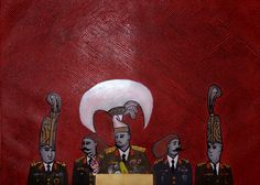 Original Political Painting by Evrensel Urum Wood Canvas, Canvas Art, Original Art, Original Paintings, Postmodernism, Ink Painting, Art Oil, Buy Art, Documentaries