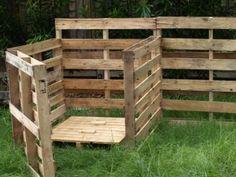Compost bin!  #diy #pallets #gardenchat