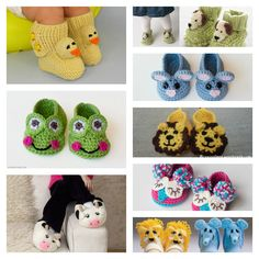 DIY Handmade Baby Animal Booties