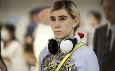 shoshanna in japan - panda headphones // hbo girls