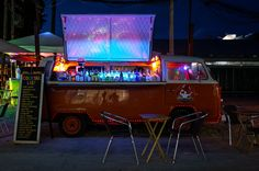 Photograph mobile cocktail bar by PurpleGecko  on 500px