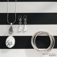 "Black & White: Always ""just right"" #Silpada #jewelry"