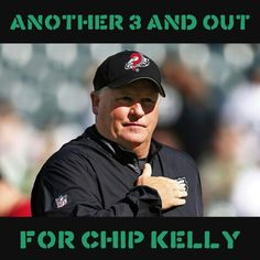 #eagles #eaglesnation #eaglessuck #chipkelly #3andout #philadelphiaeagles #flyeaglesfly