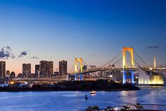 Odaiba Rainbow Bridge | ZEKKEI Japan -Introduction of superb view spots in Japan to the world-