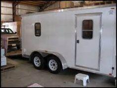25 6x12 Cargo Trailer Camper Prepper