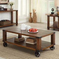 20 Great Rectangular Oak Coffee Tables | Home Design Lover