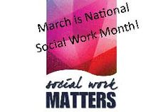 Give it up for the Social Workers for 1 more week:)!!!