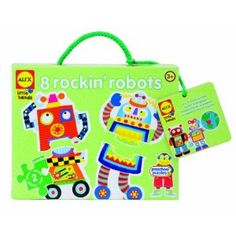 two piece robot puzzles