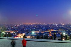 View from Montmartre - Paris by fraise, via Flickr