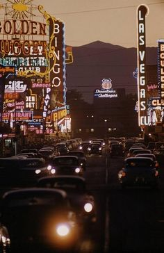 Las Vegas, 1955 (Loomis Dean) - photo via Campbells Loft fb page