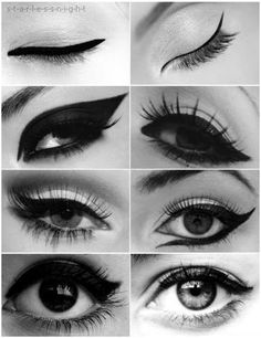 Eyeliner. New Year looks at the source link