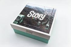 Story, board game realeased by Ninja Print and designed by Jussi Ohrvall.
