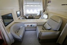 The Top 10 Most Luxurious First Class Airline Cabins First Class Airline, First Class Flights, Private Jet Interior, Cabin Design, Air France, Level 3, Cabins, Airplane, Tiny House