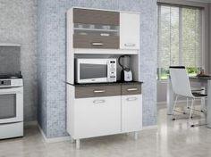 Solução de Kit para sua Cozinha Madine Móveis Viena - 4 Portas 2 Gavetas