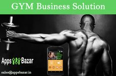 AppsBazar presents a unique Gym Business solution for gym owners.