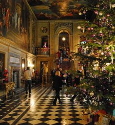 Chatsworth House,Christmas 2012