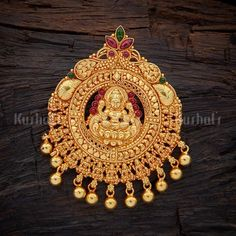 Designer lakshmi engraved silver temple pendant studded with spinal ruby green stones, plated with gold polish, made of pure 925 silver Gold Ring Designs, Gold Earrings Designs, Best Jewellery Design, Silver Jewelry, Silver Ring, Pendant Jewelry, 925 Silver, Gold Necklace, Silver Necklaces