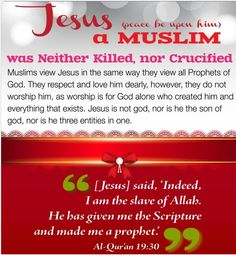 muslims view on jesus
