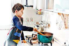 #kitchen #chef #boy #cooking