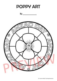 Poppy Art Activity - Anzac Day Armistice Day Veterans Day Remembrance Day Classroom Resources, Teaching Resources, Poppy Template, Armistice Day, Anzac Day, Remembrance Day, Writing Poetry, Veterans Day, Art Activities