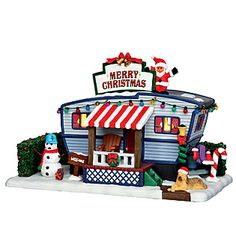 Coventry Cove by Lemax Christmas Village Building, Christmas Lane Trailer $22.04