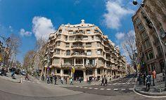 La Pedrera (Casa Milà), Barcelona (Spain)