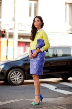 Sydney Fashion Week Spring 2012 Street Style - Australia Fashion and Style 2012 - Harper's BAZAAR