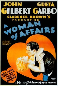 La mujer ligera (A woman of affairs), de Clarence Brown, 1928