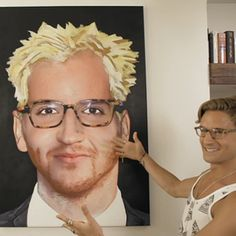 The old series of made in Chelsea - a painting done by proud lock of him 'Jamie' 'francis' all emerged as one person by a part of each of them as Made In Chelsea, Lost Boys, Hilarious, Funny, Movie Tv, Fangirl, Haha, Old Things, American