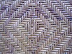 single diamond chair cane weave