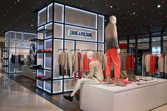 ZADIG & VOLTAIRE Collection at Galeries Lafayette, Paris, France, pinned by Ton van der Veer