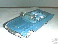 1961 Ford Thunderbird Convertible promo model