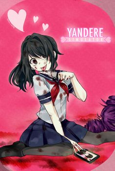 Yandere-chan by Danny-chama on DeviantArt
