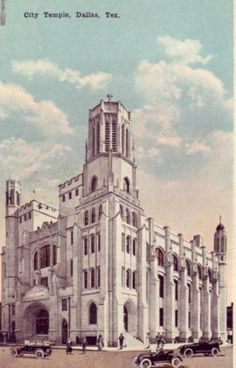 City Temple, downtown Dallas