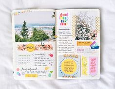"""studyrose:  """" february 29 // 9:53  almost talked myself out of a workout this morning, but i did it anyway!! and now i can't feel my legs. i really really love my march spread. so yellow, so bright; good things are on the horizon, folks, i feel them..."""