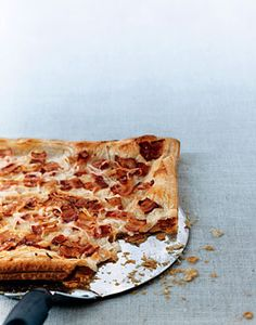 Alsatian Cheese Tart Recipe | Epicurious.com