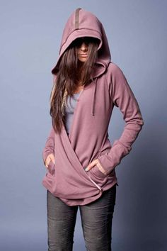 Evenagamba Whoopy Puff Wrap Hoodie. Looks so comfy!