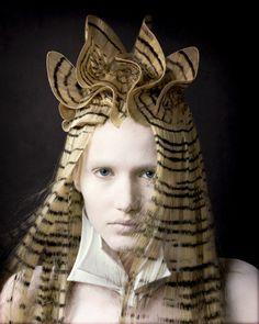 Skyler McDonald, avant garde hair