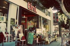 Tini! Awesome vintage store in L.A