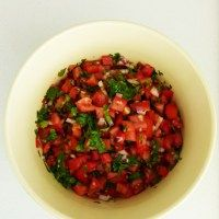 Spicy salsa by Miss Food Fairy
